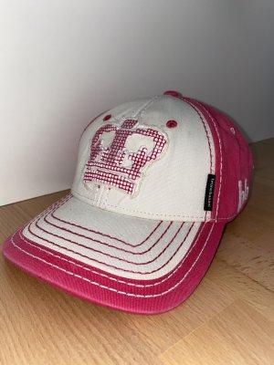 Bruno Banani Gorra de béisbol blanco-rosa