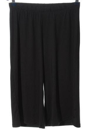 Bruno Banani Falda pantalón de pernera ancha negro look casual