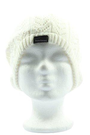 Bruno Banani Crochet Cap white casual look