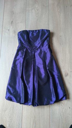 Bruno Banani Kleid lila mit Schleife