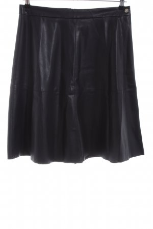 Bruno Banani Faux Leather Skirt black casual look