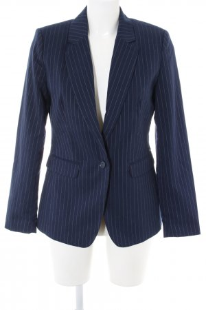 Bruno Banani Short Blazer blue-light grey striped pattern business style