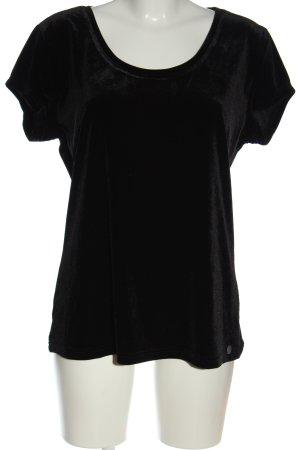 Bruno Banani Short Sleeved Blouse black elegant