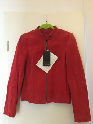 Bruno Banani Giacca in pelle rosso