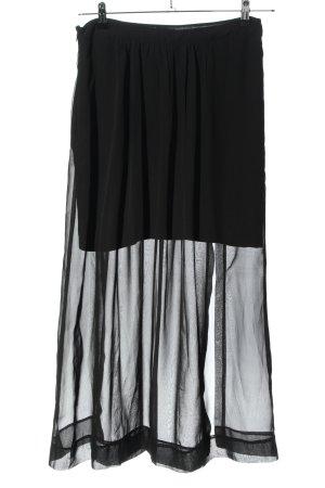 Bruno Banani Maxi Skirt black casual look