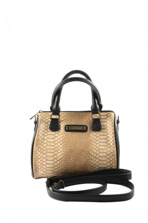 Bruno Banani Mini Bag black-natural white animal pattern business style