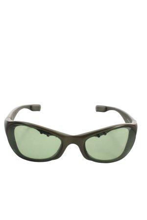 Bruno Banani ovale Sonnenbrille khaki Casual-Look