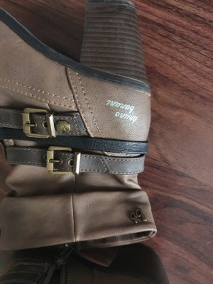 Bruno Banani Zipper Booties light brown