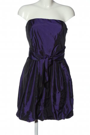 Bruno Banani schulterfreies Kleid lila Elegant