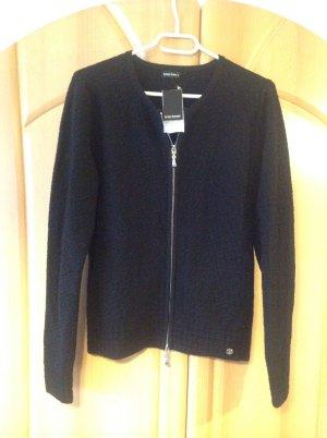 Bruno Banani Knitted Cardigan black viscose