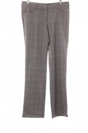 Bruno Banani Jersey Pants grey brown check pattern business style