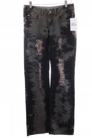 Bruno Banani Straight Leg Jeans multicolored distressed style