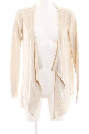 Bruno Banani Knitted Cardigan natural white casual look