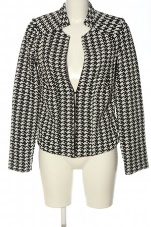 Bruno Banani Knitted Blazer black-white allover print casual look
