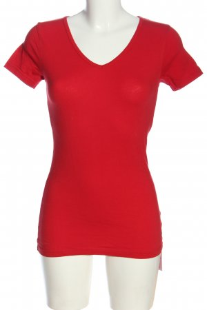 Bruno Banani T-Shirt red casual look