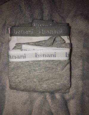 Bruno Banani Pantalone pigiama bianco-grigio
