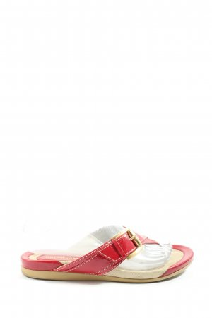 Bruno Magli Dianette sandalen rood casual uitstraling