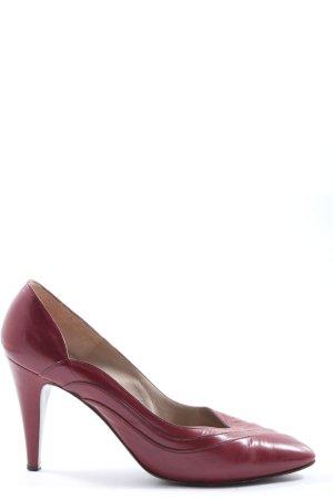 Bruno Magli Chaussure à talons carrés rouge style d'affaires
