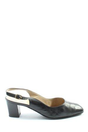 Bruno Magli Chaussure à talons carrés noir style décontracté