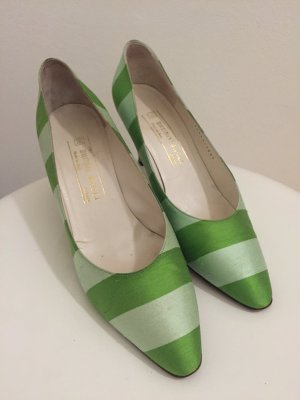 Bruno Magli Pumps grün Top Design -  1 x getragen