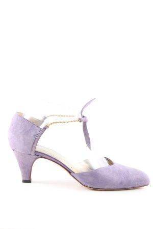 Bruno Magli Strapped pumps lilac casual look