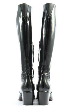 Bruno Magli Jackboots black casual look