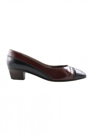 Bruno Magli Slip-on noir-brun style d'affaires