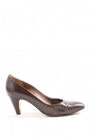 Bruno Magli Pointed Toe Pumps brown business style