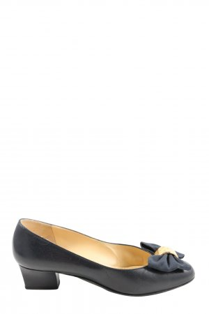 Bruno Magli Loafers blue-gold-colored casual look