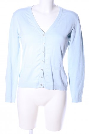 Bruno Manetti Cardigan blau Casual-Look