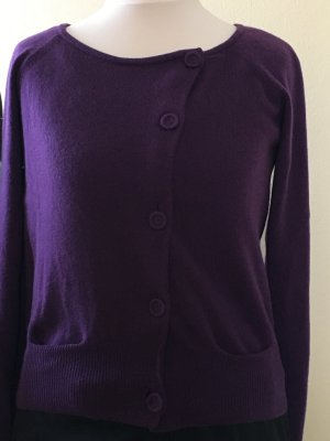 Bruno Manetti Knitted Cardigan lilac