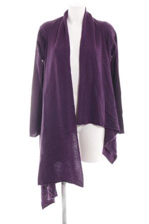Bruno Manetti Knitted Cardigan lilac elegant