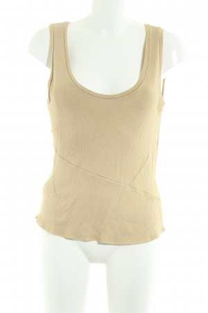 Bruno Manetti Stricktop nude Zopfmuster Casual-Look