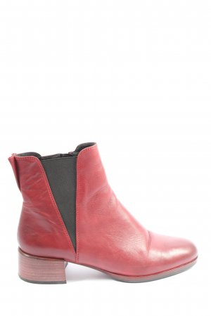Bruno Premi Chelsea Boots red-black casual look