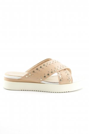 Bruno Premi Clog Sandals multicolored Rivet detail