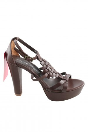 Bruno Premi High Heel Sandal brown casual look