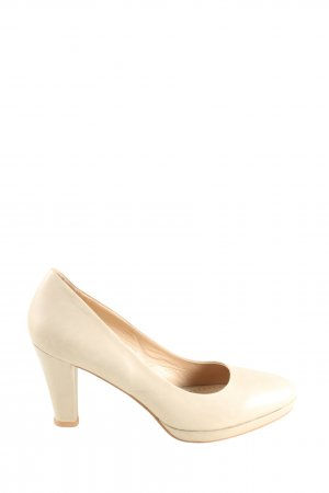 Bruno Premi High Heels natural white business style