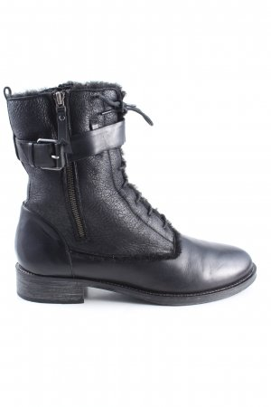 Bruno Premi Zipper Booties black casual look