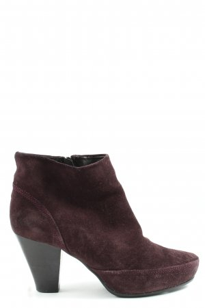 Bruno Premi Zipper Booties black-bordeaux casual look