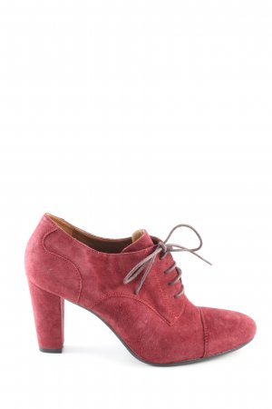 Bruno Premi Lace-up Booties red casual look