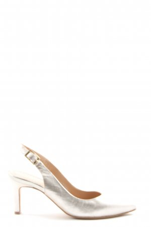 Bruno Premi Pointed Toe Pumps silver-colored elegant