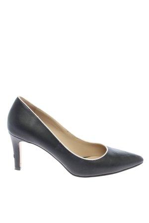 Bruno Premi Pointed Toe Pumps black-white business style