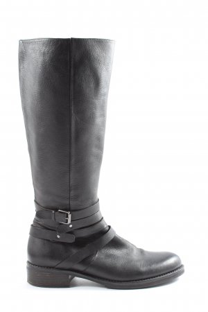 Bruno Premi Wide Calf Boots black casual look