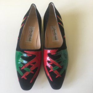 Slingback Ballerinas multicolored leather