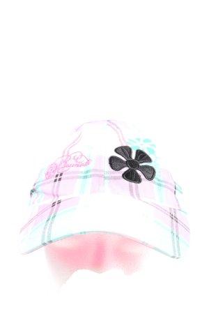 Brunotti Baseballpet roze-wit geruite print casual uitstraling