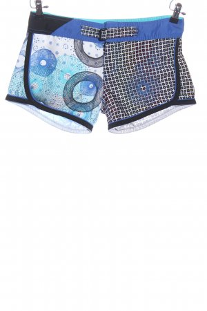 Brunotti Hot Pants abstraktes Muster Casual-Look