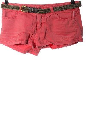 Brunotti Short en jean rose style décontracté
