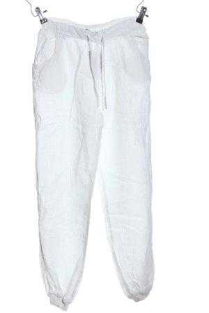 Brunotti Linnen broek wit casual uitstraling