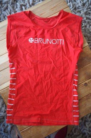 Brunotti Lycr-a Surfshirt Schwimmshirt Top rot