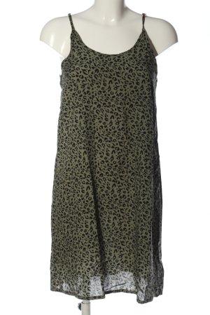 Brunotti Mini-jurk khaki-zwart volledige print casual uitstraling